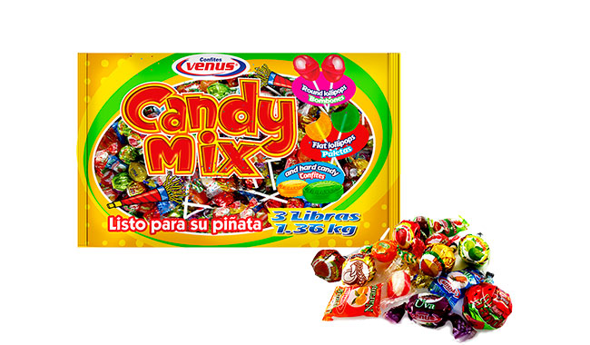 Piñatera-Candy Mix 3 Libras