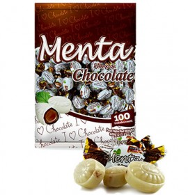 Confite Relleno Menta Chocolate